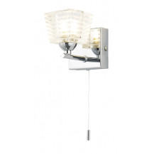 Azra Chrome Wall Light