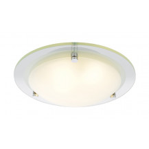Albus Large Opal Diffuser Flush Ceiling Light