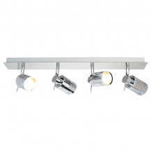 Tauros Chrome Backplate Bar Spotlight