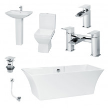 Seattle Tabor Freestanding Suite inc Taps & Waste