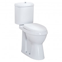 Comfort Height Close Coupled Toilet and Seat