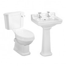 Park Royal™ Traditional Toilet & 595 Basin Suite