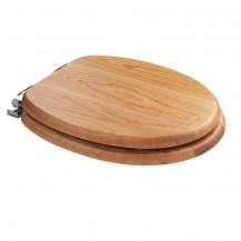 Sit Tight Bloomfield Solid Oak Soft Close Toilet Seat