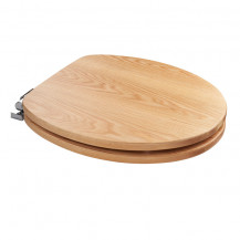 Sit Tight Fitzroy Solid Oak Soft Close Toilet Seat