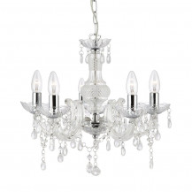 Marie Therese Clear Acrylic Chandelier