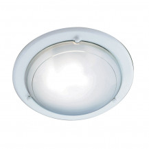 Jupiter White Flush Ceiling Light