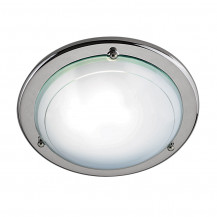 Jupiter Modern Chrome Flush Ceiling Light