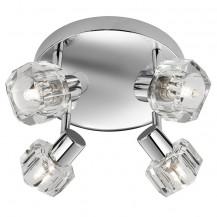 Triton Chrome Ceiling Spotlight