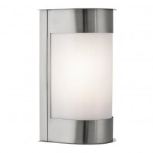 Stainless Steel Vertical Curved Outdoor Wall Light