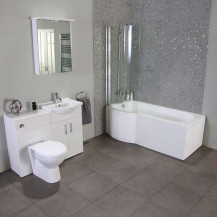 Windsor™ 55cm Left Hand Shower Bath Suite
