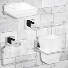 Veneto 4 Piece Bathroom Accessory Pack