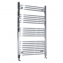 Beta Heat Electric 1150 x 600mm Straight Chrome Heated Towel Rail