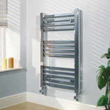 Beta Heat Electric 800 x 450mm Square Chrome Heated Towel Rail