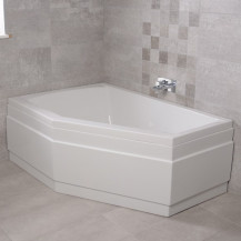 Trio 1500 x 1000 Left Hand Bath