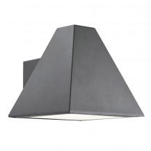 Pyramid Grey Outdoor Wall Light