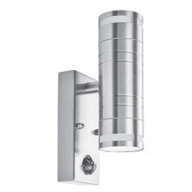 Stainless Steel Outdoor Porch LED Wall Light With Motion Sensor