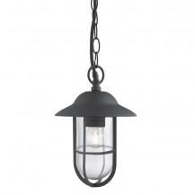 Well Glass Black Matt Outdoor Lantern Light
