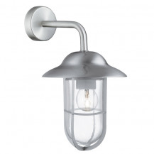 Stainless Steel Well Glass Outdoor Wall Lantern