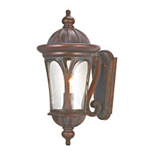 Canada Weathered Brown Outdoor Wall Light