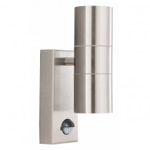 Stainless Steel Outdoor Wall Light With Motion Sensor