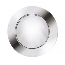 Stainless Steel LED Recessed Round Walkover Lights (6 Pack)
