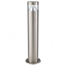Stainless Steel Outdoor Post Light With Clear Diffuser
