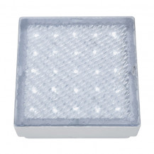Clear White LED Recessed Square Walkover Light