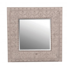 Square Embossed Wall Mirror 700(H) 700(W)