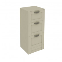 Nottingham Ivory 3 Drawer Storage Unit