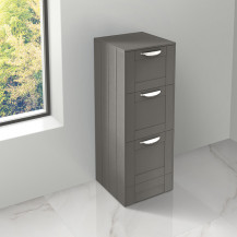 Nottingham Grey 3 Drawer Storage Unit