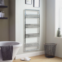 Ravello 1500 x 500 Chrome Towel Rail