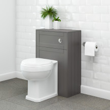 Nottingham Grey WC Unit with Park Royal™ Back to Wall Toilet