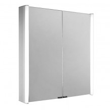 Ora Double Door Illuminated LED Mirrored Cabinet