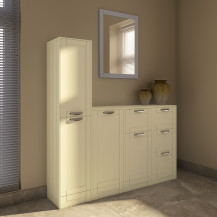 Nottingham Ivory Storage Furniture Pack