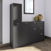 Nottingham Grey Storage Furniture Pack