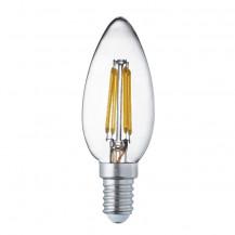 LED E14 Warm White Filament Candle Light Bulb