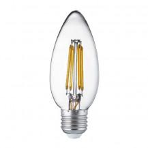 LED E27 Warm White Filament Candle Light Bulb