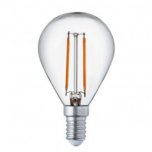 LED E14 Warm White Filament  Golf Ball Light Bulb
