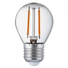 LED E27 Warm White Filament Golf Ball Light Bulb