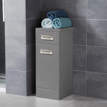 Cuba Grey 300 Storage Door & Drawer Unit
