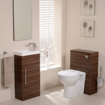 Aspen Walnut Tampa 410 Cloakroom Pack