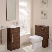 Aspen™ Walnut Impressions 410 Cloakroom Pack