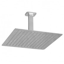UltraThin Designer Square 300mm Shower Head & Ceiling Arm