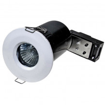 Fixed Fire Rated IP65 White Downlight