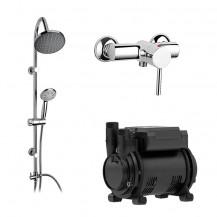 Nico Lever 1.6 Bar Single Impeller Power Shower