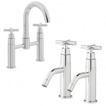 Mirella Basin and Bath Tap Pack