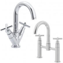 Mirella Basin Mixer and Bath Filler Tap Pack