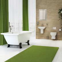 Tabor Freestanding Bath  Wall Hung Complete Bathroom Suite