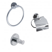 Impressions 3 Piece Bathroom Accessory Pack