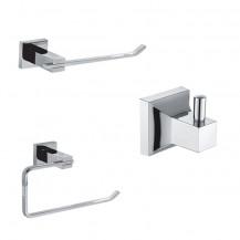 Veneto 3 Piece Bathroom Accessory Pack